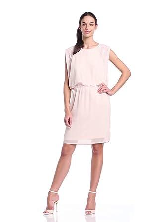 Soaked In Luxury Women's Minkana Sheer Grecian Dress, Bimba, Size 8 (Label Size: Small)