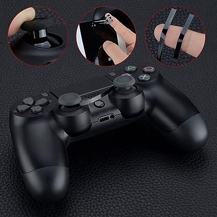 eXtremeRate Joysticks Negro Kit de Pegatina Protectora Resistente al ...