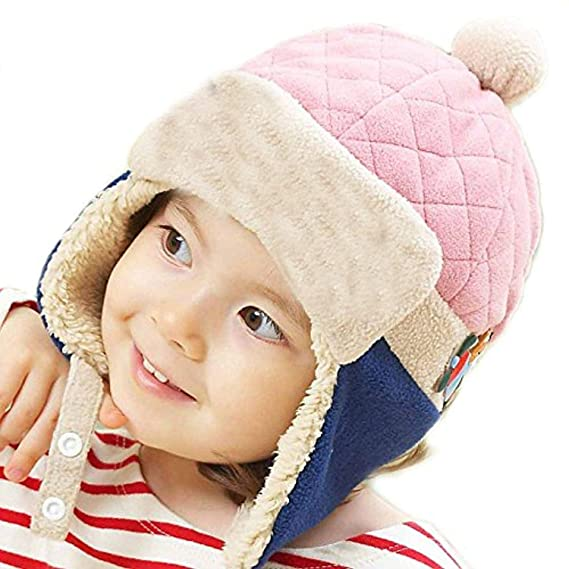 Image result for Vbirds Baby Winter Warm Pilot Beanie Cap