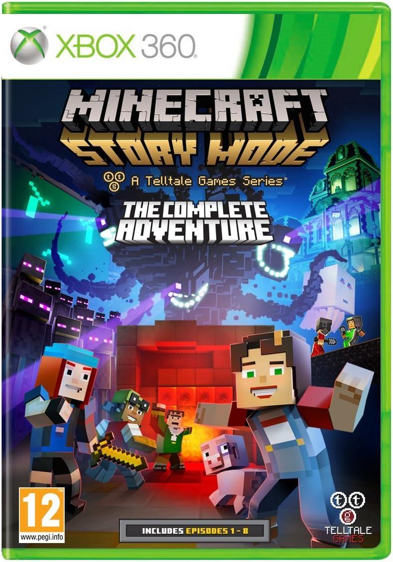 Minecraft Story Mode Complete Adventure [Importación Inglesa]: Amazon.es: Videojuegos