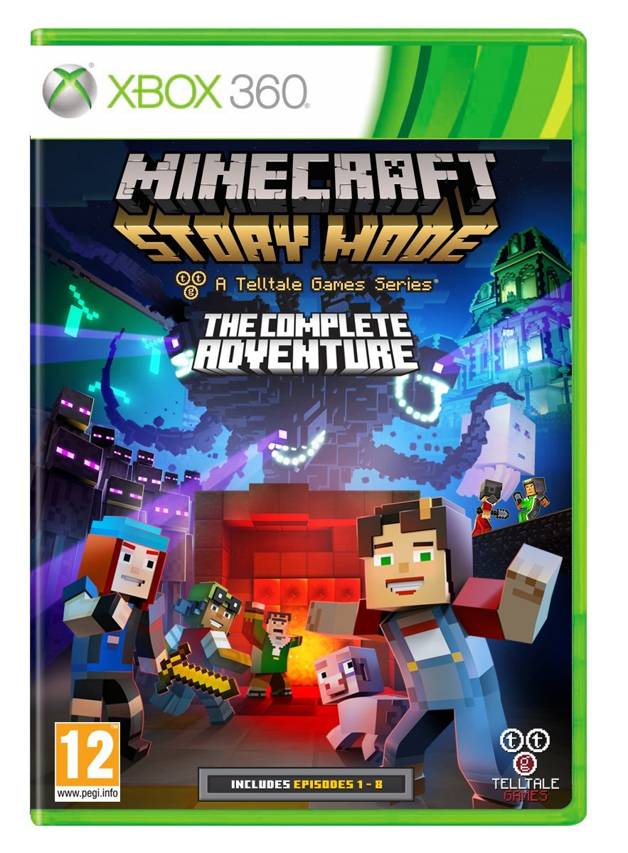 Buy Minecraft Story Mode: The Complete Adventure PAL Online at Low
