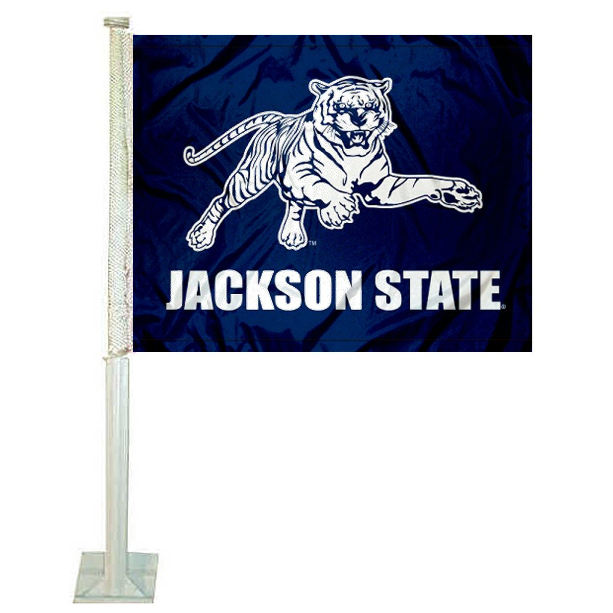 College Flags and Banners Co. Jackson State Tigers Car Flag
