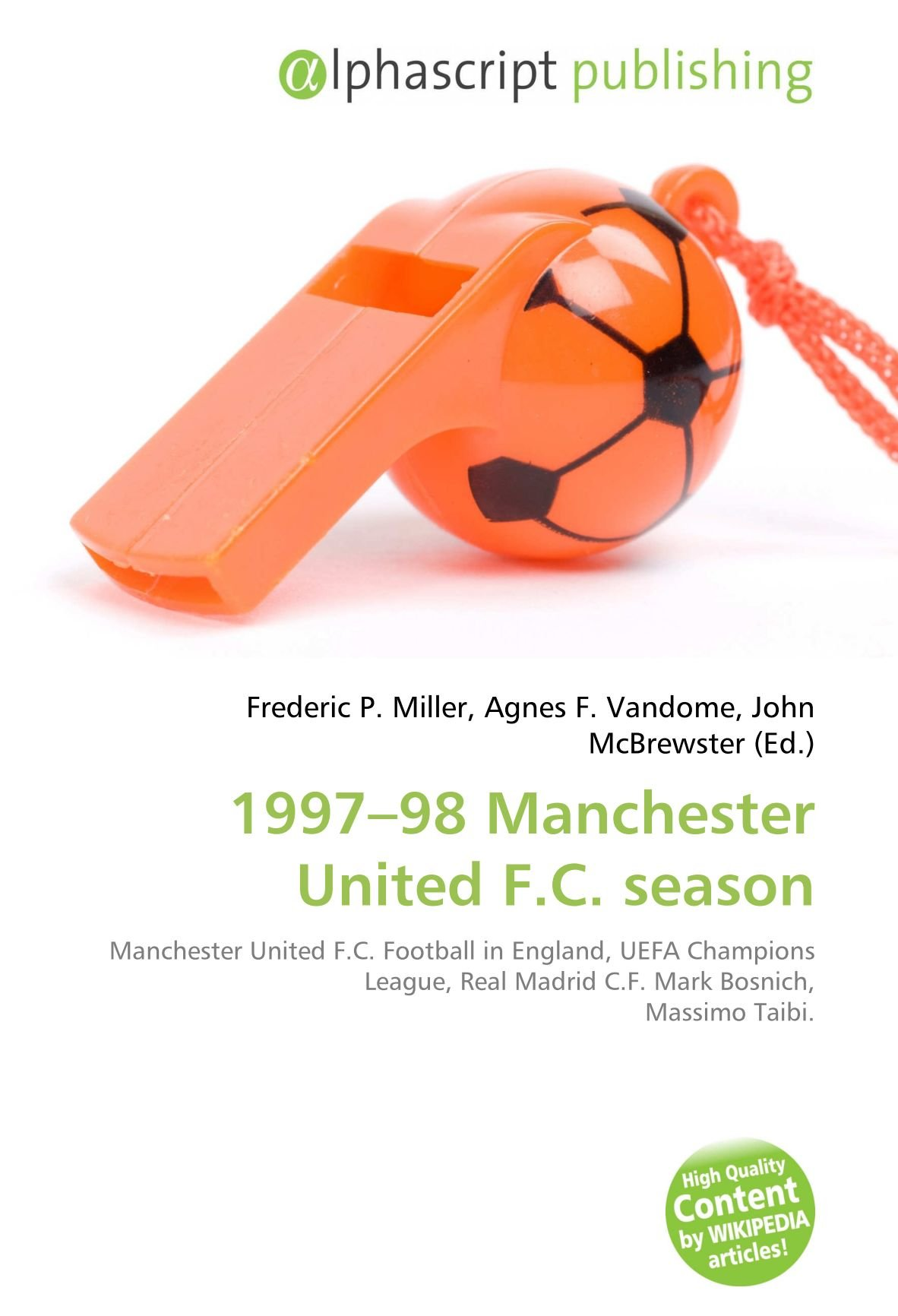 Amazon 1997 98 Manchester United F C Season