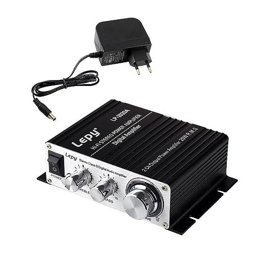 43 opinioni per LEPY LP- 2020A HIFI (2 x 20W) Amplificatore Audio Stereo per MP3 MP4 Telefono