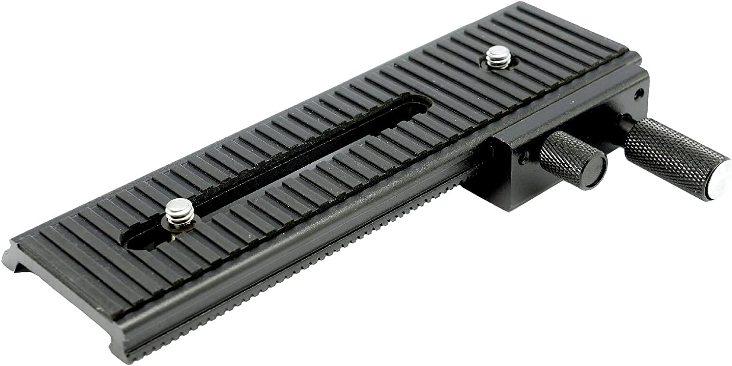 Gadget Place 1 Dimension Focusing Rail for Panasonic Lumix GX9 Lumix DC-G9 DC-LX100 II