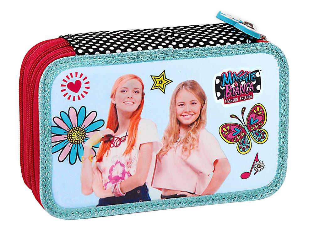Astuccio 3 cerniere accessoriato Maggie /& Bianca MAGGIE and BIANCA