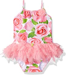 af3942bef0f Kate Mack Toddler Girls  Rose Parfait Tutu Swimsuit