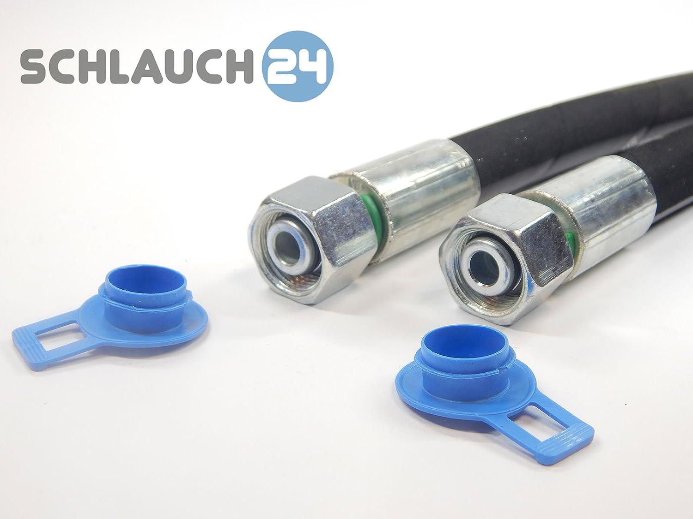 Hydraulikschlauch 2SN DN 10 - NW10-12L ? DKOL - DKOL90 400 mm