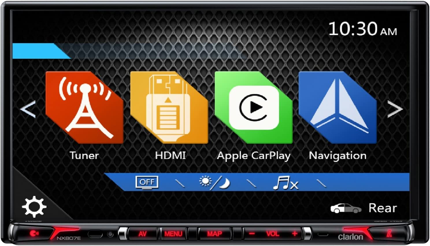 Clarion NX807E 2-DIN Navigationssystem mit Carplay