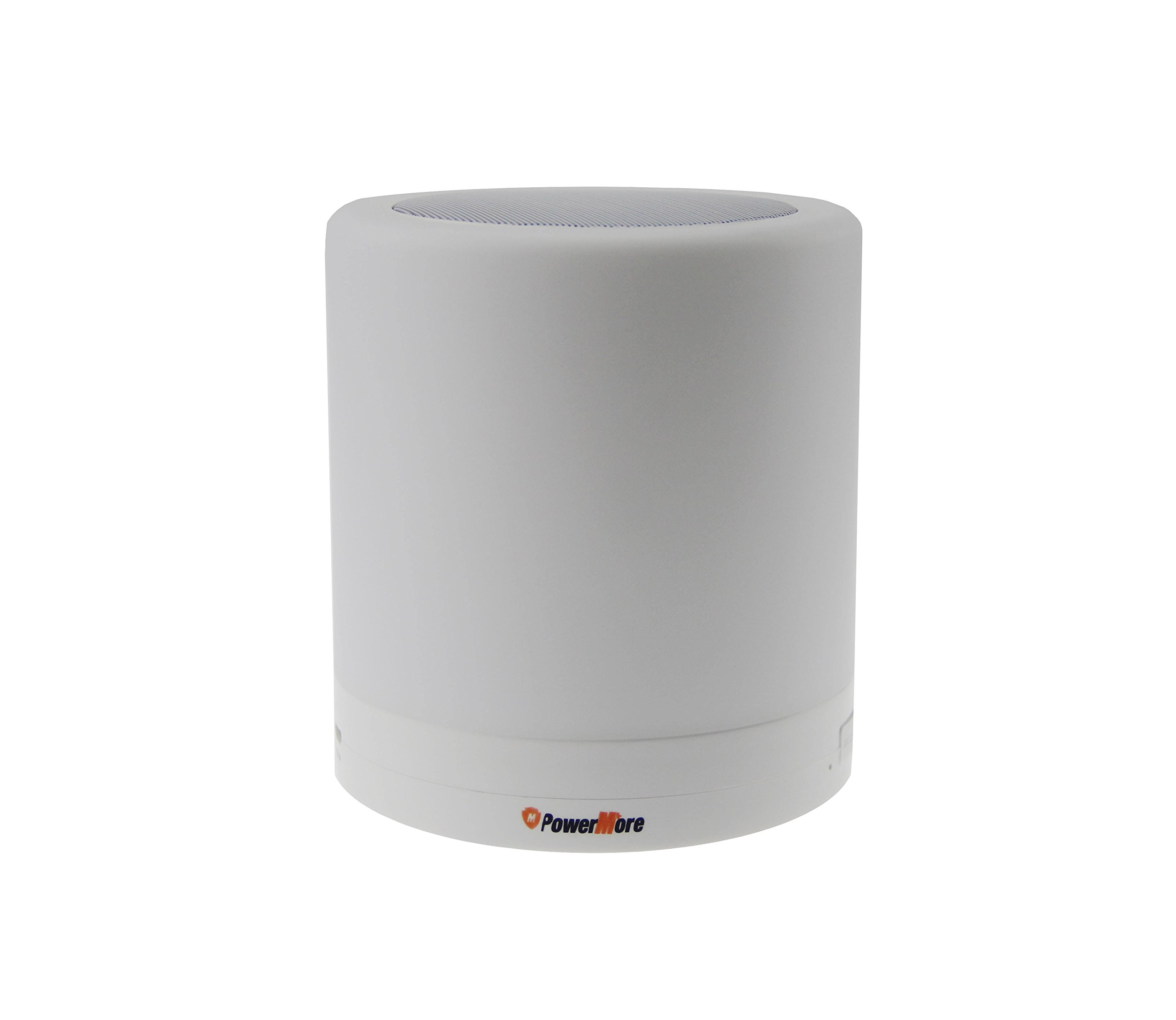 PowerMore Smart LED Lamp With Bluetooth Speaker, Touch Sensor light, Music Player, Hands free Bluetooth Speakerphone (Big 5W)