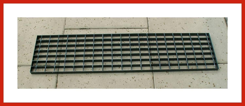 150 cm Gitterrost Laufrost Anthrazit ca 25 cm breit in 42 bis 150 cm L/änge