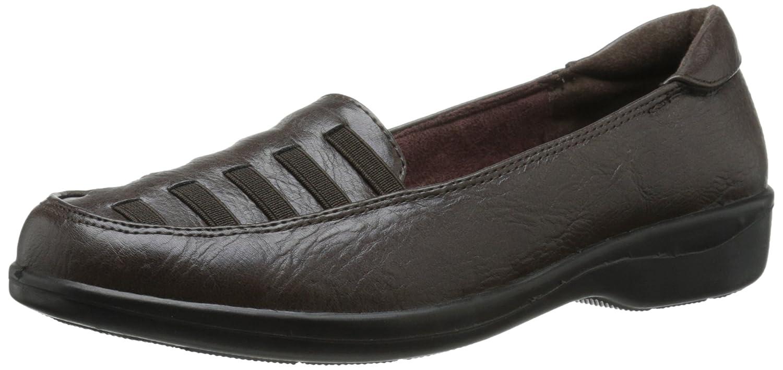 1f919c31586 Amazon.com  Easy Street Women s Genesis Flat  Shoes