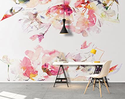 Wallpaper Wall Murals 102 4 X 67 7 Inches Self Adhesive Wallpaper Floral Wallpaper Mural Wallpaper Removable Wallpaper Floral Wall Floral