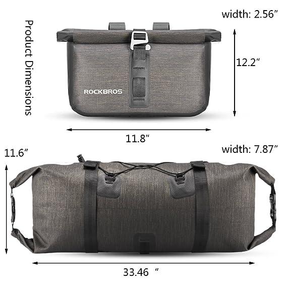 Amazon.com: RockBros 100% impermeable bolsas de bicicleta ...