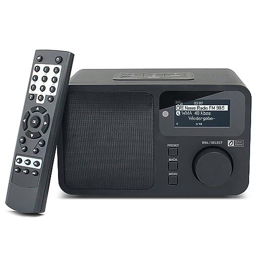 29 opinioni per Ocean Digital Radio Internet WR232 Display LCD di WiFi WLAN Wireless Home musica