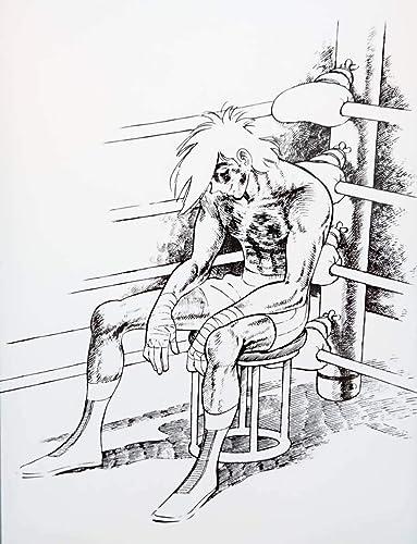 Amazon.co.jp   あしたのジョー 矢吹丈 陶板アート 真っ白な灰 約28x38cm   ホビー 通販
