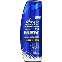 Head & Shoulders Ultra Men 2in1 Deep Clean Anti Dandruff Shampoo + Conditioner, 180 ml