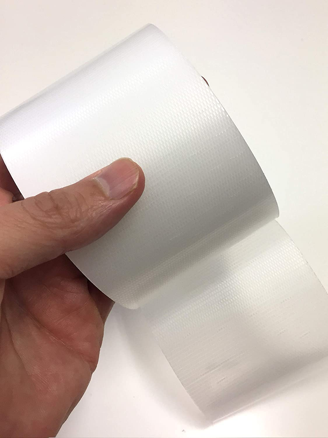 Transparent Duct Tape, Ultra High Performance Weather Resistant Tape for Discreet Repairs and Mounting | Residential, Commercial and Industrial Uses | by Gaffer Power (3 Inch x 20 Yards)