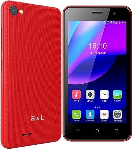 Moviles Libres, EL W45 Pantalla de 4.5 Pulgadas, Android 6.0 Quad ...