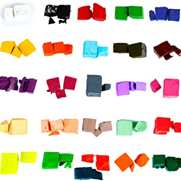 Amazon.com: Candle Shop - 26 dye colors for 150 lb of wax - Candle ...