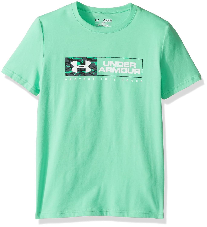 Under Armour Camiseta de Manga Corta para ni/ños con el Logotipo Knockout