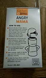Kitchen Gizmo Angry Mama Microwave Cleaner: Amazon.co.uk