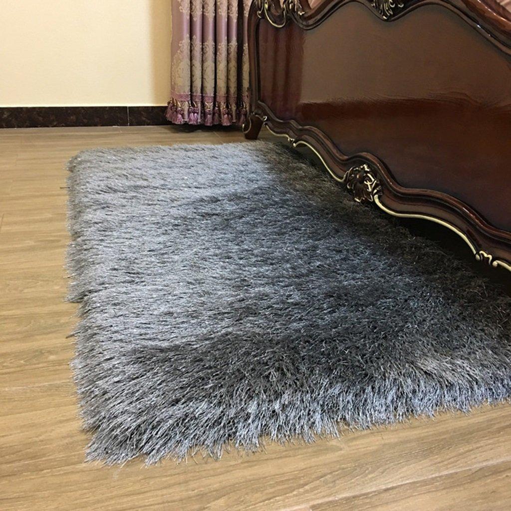 HAOJUN *Bereich Teppich Nachttisch Schlafzimmer Teppich, Wohnzimmer Großer Teppich Couchtisch Teppich, Haarlänge 8 cm Dicke Auswahl Teppich (Farbe : C, größe : 70 cm x 180 cm)