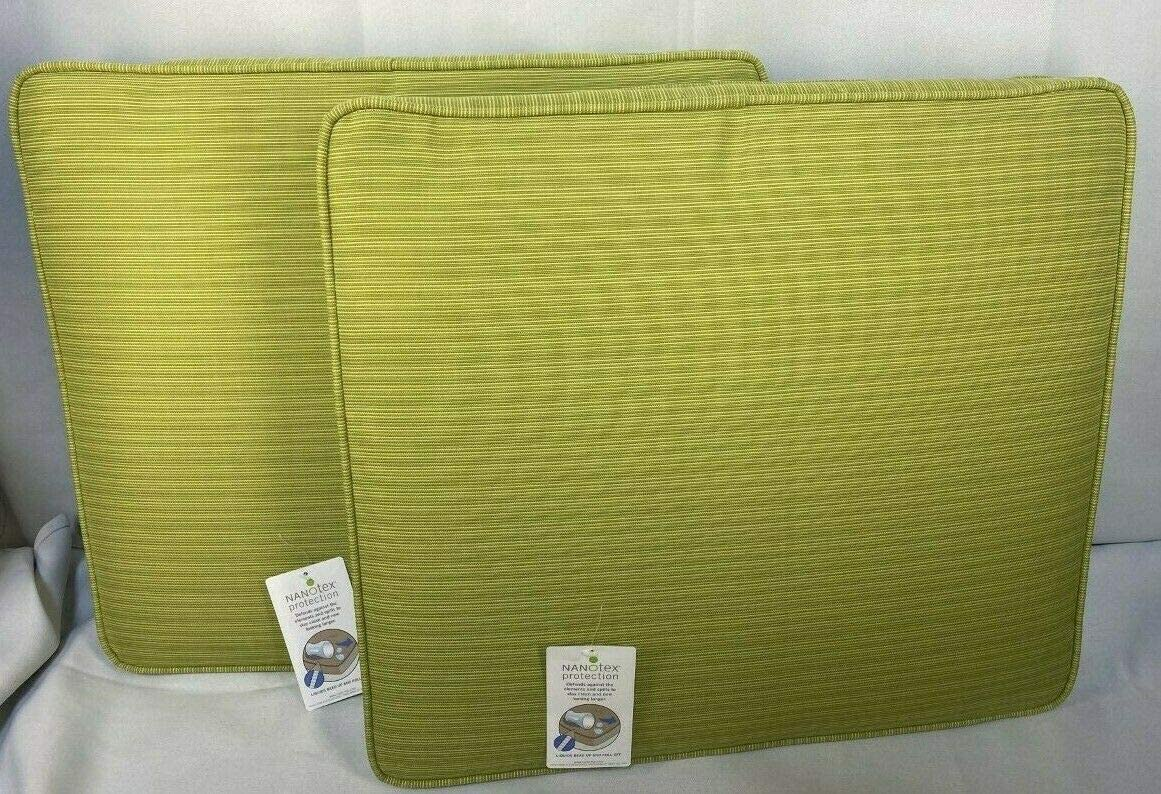 Threshold Holden Vertical Slat Chair Seat Cushion – Green