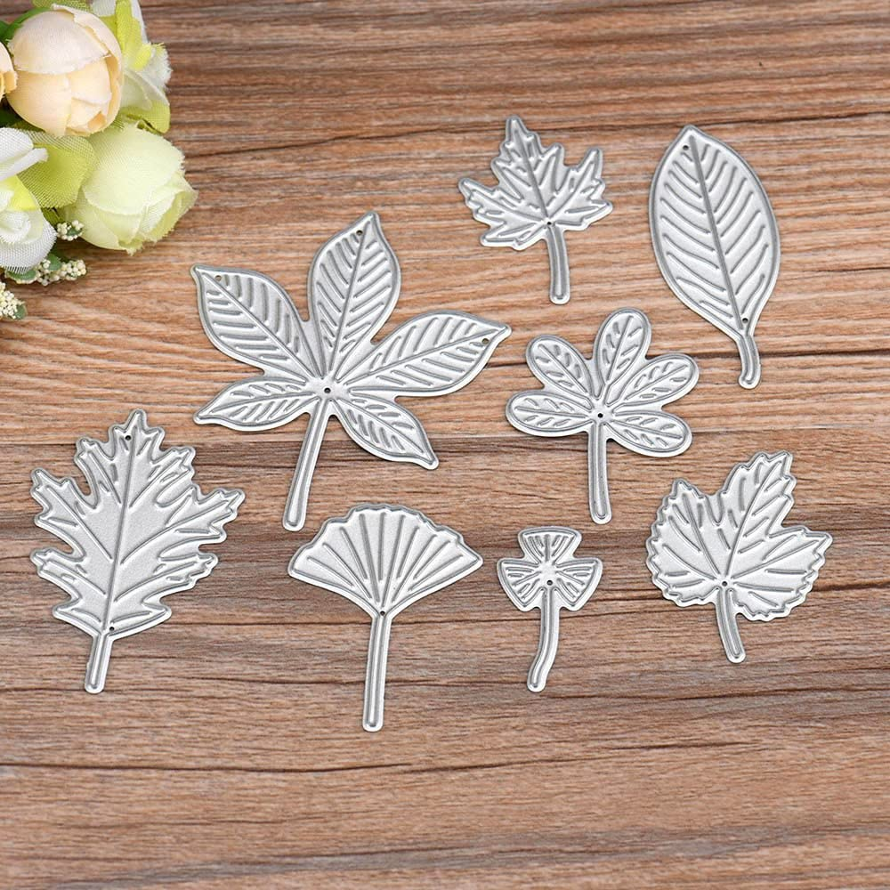 Mini Flower Leaves Metal Cutting Dies Scrapbooking Paper Embossing Making Craft