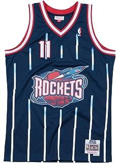 803ed82ad80 Mitchell & Ness Yao Ming Houston Rockets NBA Throwback Jersey - Navy