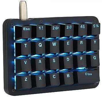 Clavier Une Mécanique A Rétro Portable Avec Main Touches Programmables Jeu Gaming De Mini Koolertron Éclairage Lednoir Macro 23 zLMqSpGUV