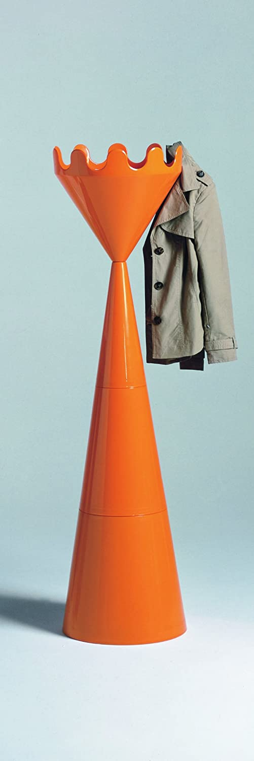Scacco Matto ORANGE Coat stand Made in Italy by Servettocose