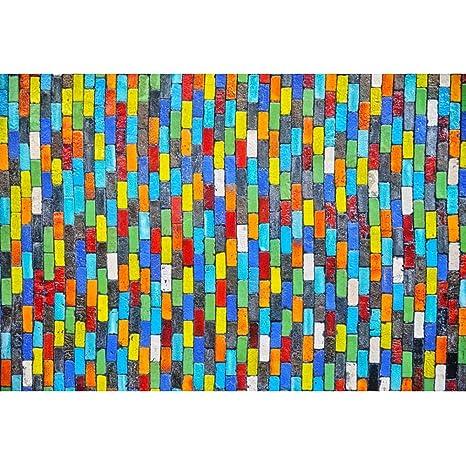 Amazon Com Leyiyi Colorful Wall Backdrop 10x8ft