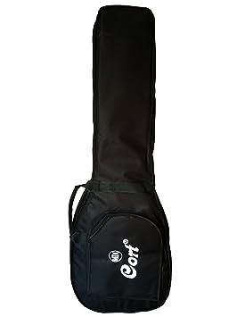 Cort cgb31 funda para guitarra eléctrica Negro