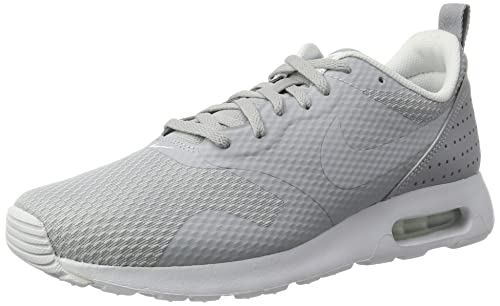 Amazon.com | NIKE Mens Air Max Tavas Wolf Grey/Wolf Grey/White Running Shoe 8 Men US | Shoes