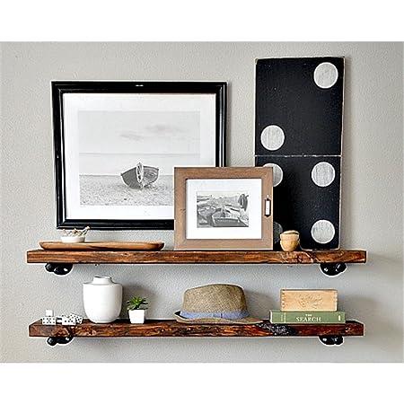Sepia paredes, mampara de madera un campo estantería de pared de ...