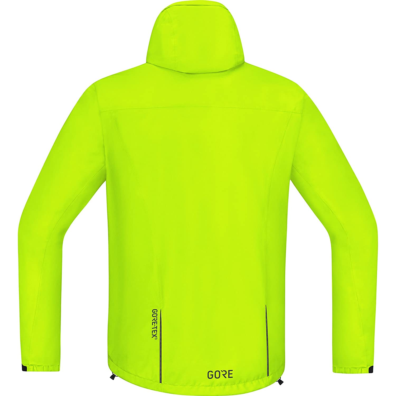 Amazon.com: GORE Wear Mens Waterproof Hooded Bike Jacket, GORE Wear C3 GORE Wear -TEX Paclite Hooded Jacket, 100036: Sports & Outdoors