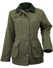 Veste pour femme Wood Green en tweed - Pour la chasse ou le tir a28089e2ba0f