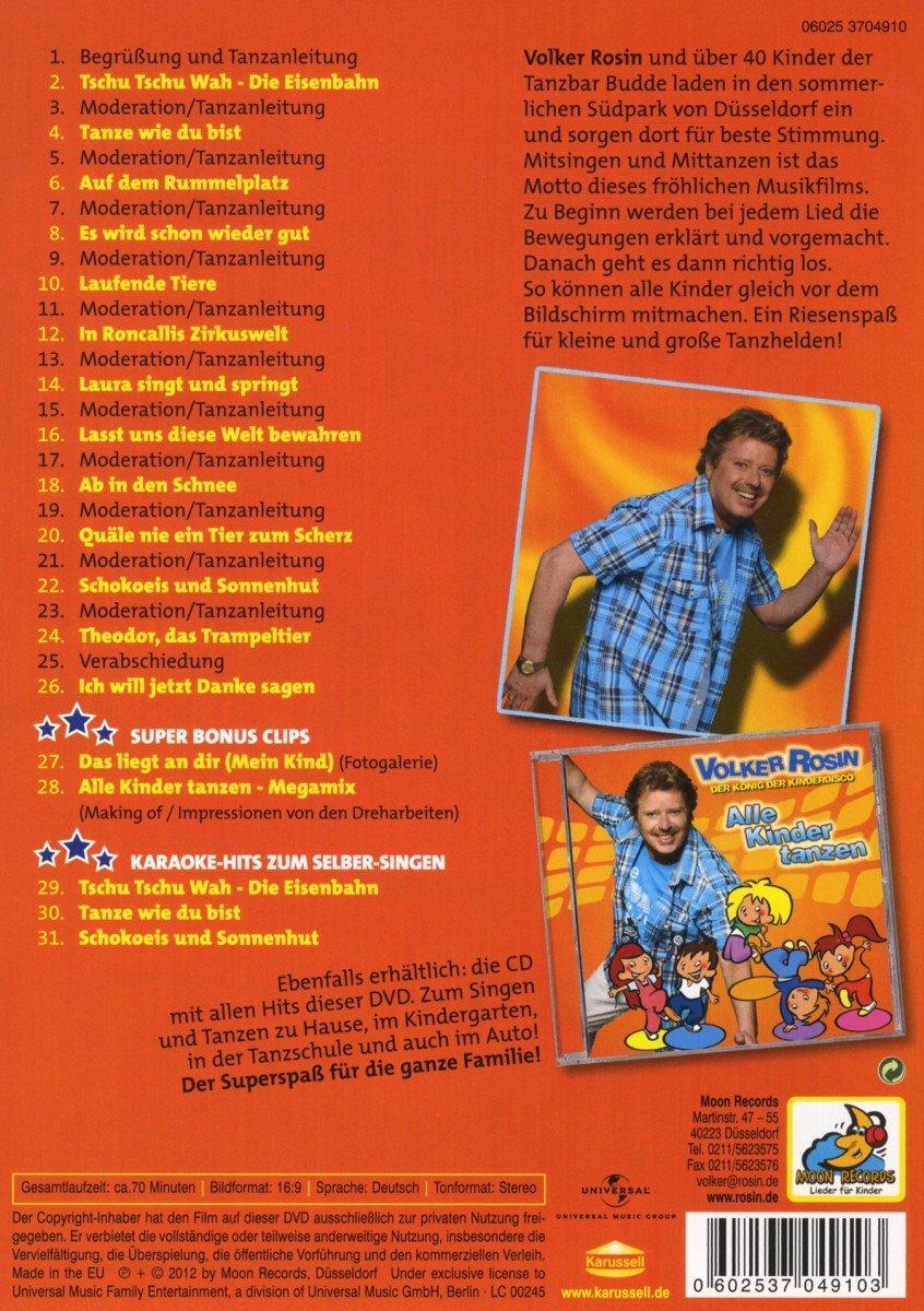 Volker Rosin - Alle Kinder tanzen  Amazon.de  Volker Rosin  DVD   Blu-ray a1d143a067