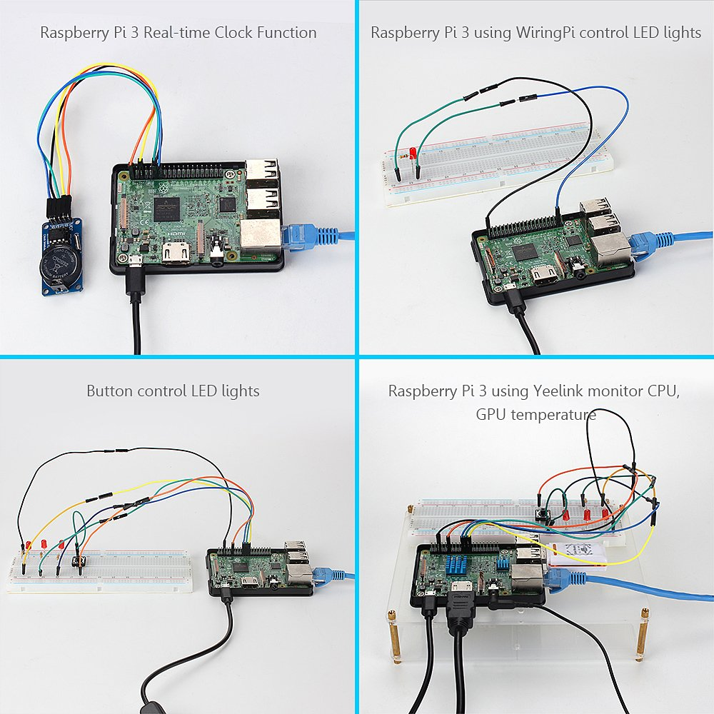 HSU Development Kit for Raspberry Pi 3 and Arduino with Different ...