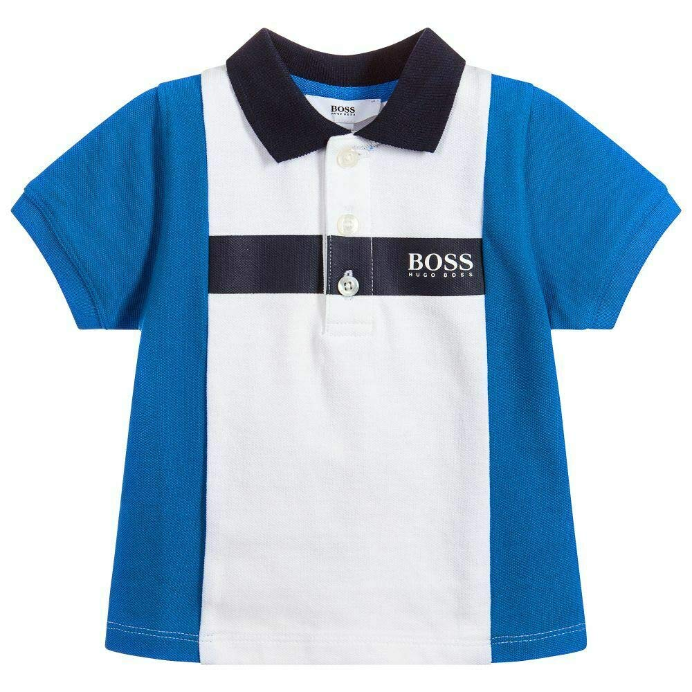 BOSS - Polo - para bebé niño Azul Azul 9 Meses: Amazon.es: Ropa y ...