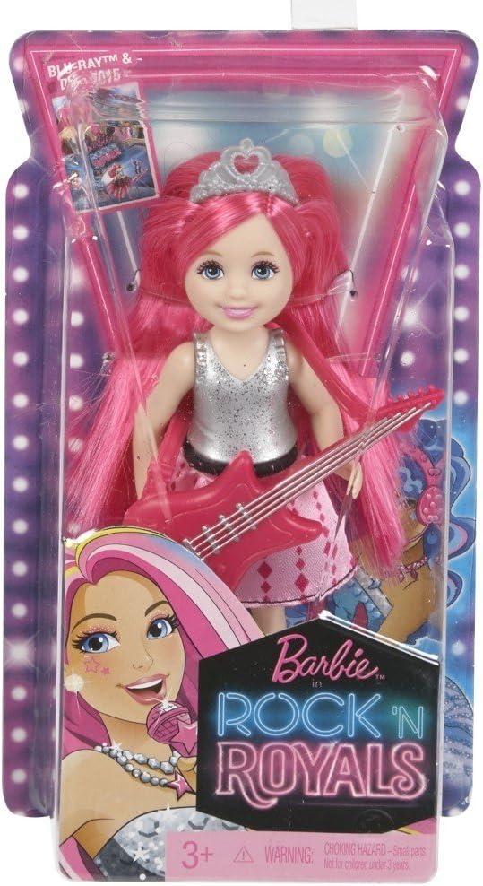 Barbie in Rock 'N Royals Blue Princess Chelsea Doll