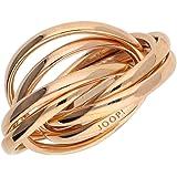 Joop Femmes bague argent Rose Or Embrace JPRG90682C