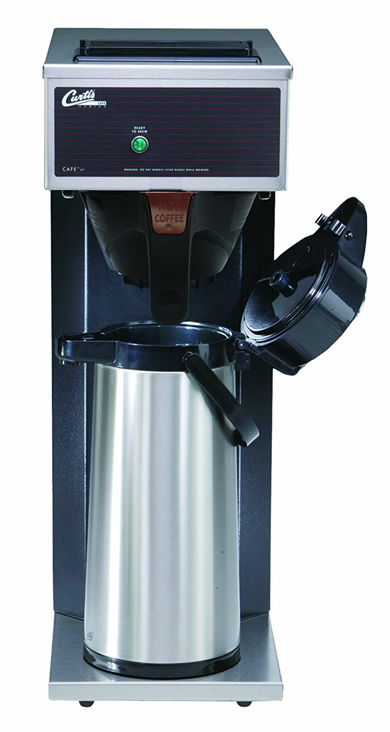 Wilbur Curtis Commercial Pourover Coffee Brewer 2.2L Airpot Single Coffee Brewer Inc. CAFE0AP10A000 Wilbur Curtis Co Coffee Maker with Fast-Brewing System Each