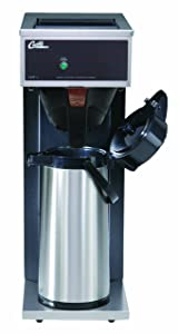 Wilbur Curtis Commercial Pourover Coffee Brewer 2.2L Airpot Single Coffee Brewer - Coffee Maker with Fast-Brewing System - CAFE0AP10A000 (Each)