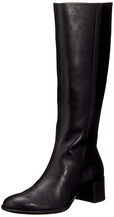 Ecco Damen Boot Hohe 35 Tall Block StiefelSchuhe Shape redCBox