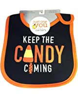 """Carter's Just One You """"Keep The Candy Coming"""" Bib"""