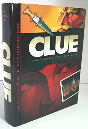 Parker Brothers Clue Bookshelf Game The Classic Detective