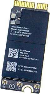 Willhom Airport Wireless Network Card WiFi and Bluetooth 4.0 BCM94360CS BCM94360CSAX Replacement for MacBook Pro 13