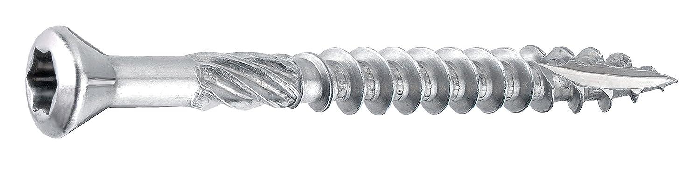 Terrassenschrauben 5,0 x 50 mm C1 Edelstahl 270 St/ück im Eimer